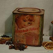 """Для дома и интерьера ручной работы. Ярмарка Мастеров - ручная работа Банка для сыпучих продуктов """"PINK PUDDING"""". Handmade."""