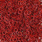 Материалы для творчества ручной работы. Ярмарка Мастеров - ручная работа Кнопки Prym 9,5 мм рубашечные красные (трикотажные, джерси). Handmade.