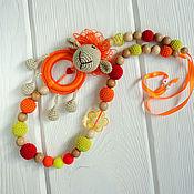 Одежда ручной работы. Ярмарка Мастеров - ручная работа Слингобусы Оранжевая Овечка. Handmade.