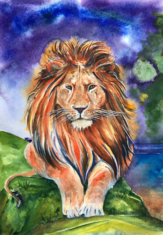 уборщица службу рисунок львов гуашью суккуленты