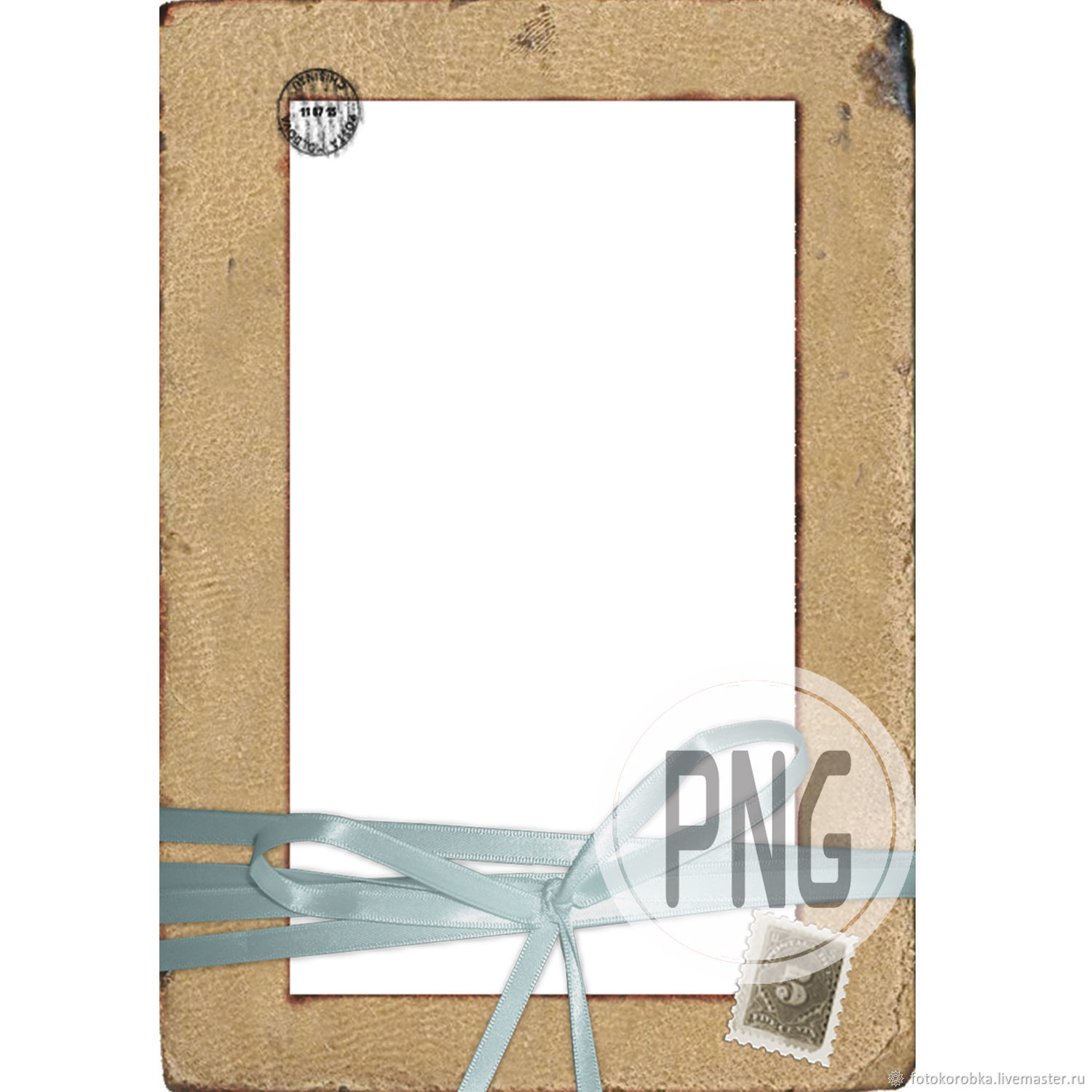 PNG photo frame-vintage album, Photo, Moscow,  Фото №1