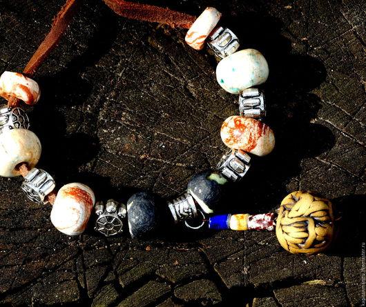 """Браслеты ручной работы. Ярмарка Мастеров - ручная работа. Купить Браслеты """" Бохо. Украшаемся земляне!"""". Handmade. Комбинированный"""