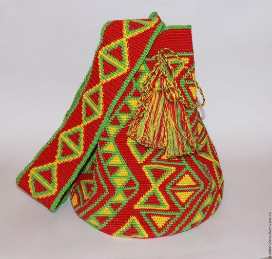 Женские сумки ручной работы. Ярмарка Мастеров - ручная работа. Купить Колумбийская мочила. Handmade. Комбинированный, вязание, аксессуары