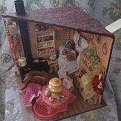 """Румбоксы ручной работы. Ярмарка Мастеров - ручная работа Румбокс """"Мышкин дом"""", миниатюра 1:12, ручная работа.. Handmade."""