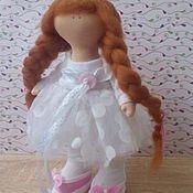 Куклы и игрушки ручной работы. Ярмарка Мастеров - ручная работа кукла-Лиза. Handmade.