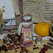 """Куклы и игрушки ручной работы. Ярмарка Мастеров - ручная работа Куколка- оберег   """"Щедрая осень"""".. Handmade."""