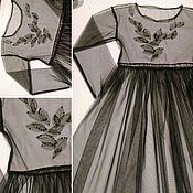 Одежда ручной работы. Ярмарка Мастеров - ручная работа Платье из фатина.. Handmade.