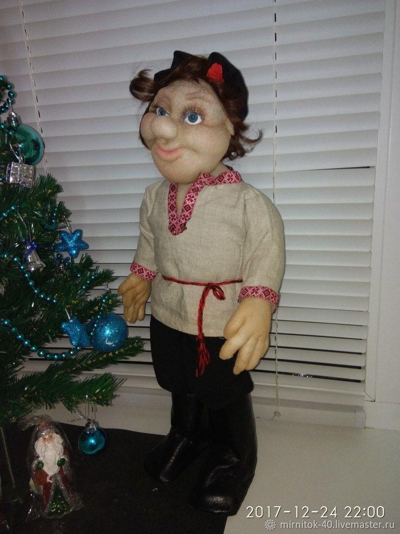 ручной работы. Ярмарка Мастеров - ручная работа. Купить Капроновая кукла. Handmade. Кукла, капроновая кукла