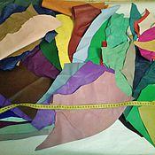 Материалы для творчества ручной работы. Ярмарка Мастеров - ручная работа Новое поступление - натуральная итальянская кожа галантерейная. Handmade.