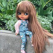 Кастом ручной работы. Ярмарка Мастеров - ручная работа Кукла Блайз (Blythe) -куколка по имени Ханна. Handmade.