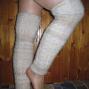 Аксессуары handmade. Livemaster - original item Women`s knitted gaiters. Handmade.