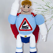 handmade. Livemaster - original item Arkady Locomotives (44 cm) toy for kids. Handmade.