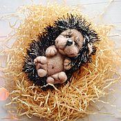 Куклы и игрушки ручной работы. Ярмарка Мастеров - ручная работа Ёжик игрушка, брелок, валяный. Handmade.