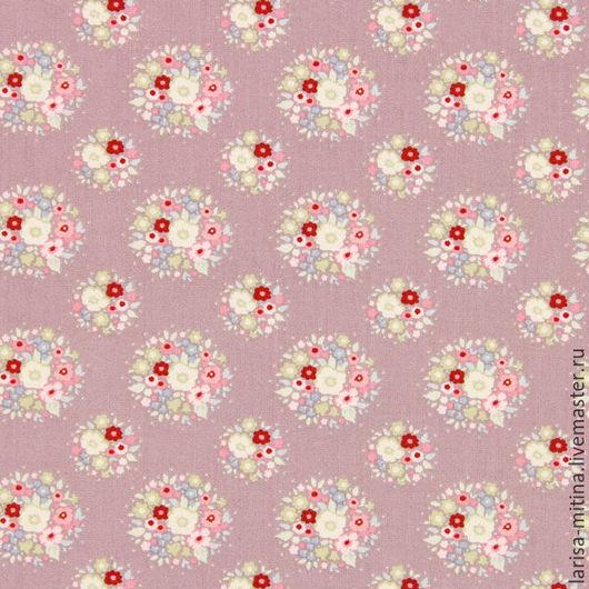 Шитье ручной работы. Ярмарка Мастеров - ручная работа. Купить Ткань Тильда  Thula Lilac. Handmade. Разноцветный, ткань тильда