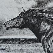 Картины и панно ручной работы. Ярмарка Мастеров - ручная работа Повелитель Ветров (картина, ручная работа). Handmade.