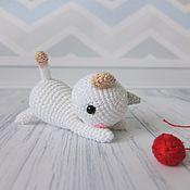 Куклы и игрушки ручной работы. Ярмарка Мастеров - ручная работа Игривый котенок. Handmade.