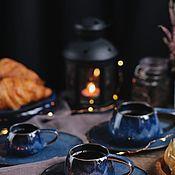 Посуда handmade. Livemaster - original item Set of tableware: Mug 100, 200 and 300 ml. Handmade.