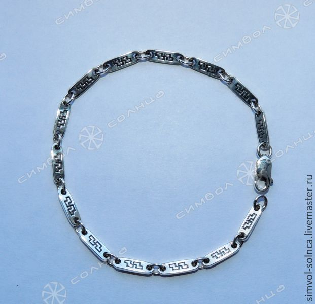 Bracelet With a sign of well-Being, Folk decorations, Sochi,  Фото №1