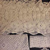 Материалы для творчества ручной работы. Ярмарка Мастеров - ручная работа Винтажное кружево. Набор. Handmade.