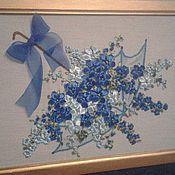 Картины и панно ручной работы. Ярмарка Мастеров - ручная работа Зонт с цветами. Handmade.