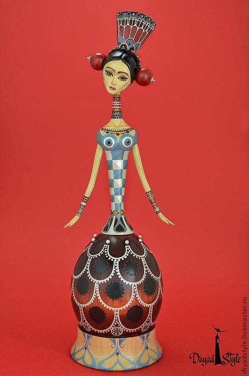 """Коллекционные куклы ручной работы. Ярмарка Мастеров - ручная работа. Купить Эксклюзивная авторская кукла """" Каталина"""". Handmade. роспись"""