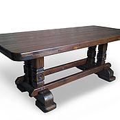 Для дома и интерьера ручной работы. Ярмарка Мастеров - ручная работа Стол деревянный. Handmade.