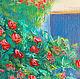 Солнечная терраса - средиземноморский пейзаж картина маслом Наталии Егоровой