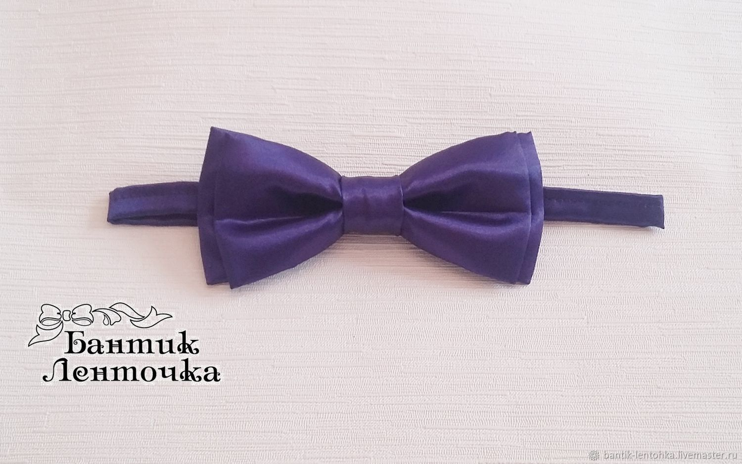 Tie for the groom 'violet', Ties, Moscow,  Фото №1