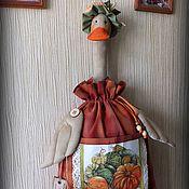 Для дома и интерьера ручной работы. Ярмарка Мастеров - ручная работа ТЫКОВКА пакетница. Handmade.
