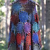handmade. Livemaster - original item Openwork wool cardigan. Handmade.