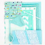 Материалы для творчества handmade. Livemaster - original item Materials for dolls and toys: Set of fabrics for needlework NT-02. Handmade.