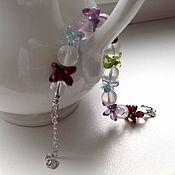 Украшения handmade. Livemaster - original item Bracelet of gems