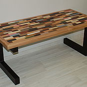 Столы ручной работы. Ярмарка Мастеров - ручная работа Журнальный столик на заказ. Handmade.