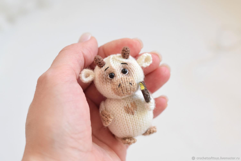 Подарок бычок на 8 марта, игрушка бык в подарок маме, Подарки на 8 марта, Москва,  Фото №1
