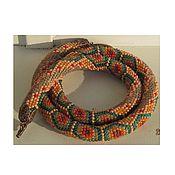 Украшения ручной работы. Ярмарка Мастеров - ручная работа бисерный шнур. Handmade.
