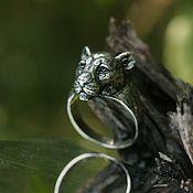 Украшения handmade. Livemaster - original item Lioness Ring | 925 Sterling silver. Handmade.
