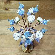 Цветы и флористика handmade. Livemaster - original item Topaz flowers