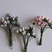 Материалы для творчества ручной работы. Ярмарка Мастеров - ручная работа 3 расцветки бутоны роз 6 мм. Handmade.