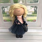 Портретная кукла ручной работы. Ярмарка Мастеров - ручная работа Интерьерная куколка. Handmade.