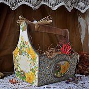 """Для дома и интерьера ручной работы. Ярмарка Мастеров - ручная работа """"Пасхальная"""" корзинка. Handmade."""