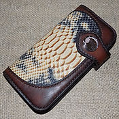 Сумки и аксессуары handmade. Livemaster - original item Women`s wallet with insert from