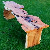Для дома и интерьера ручной работы. Ярмарка Мастеров - ручная работа Столик с самой необычной столешницей. Handmade.