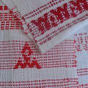 Русский стиль handmade. Livemaster - original item Homespun towel - towel No. 2.. Handmade.