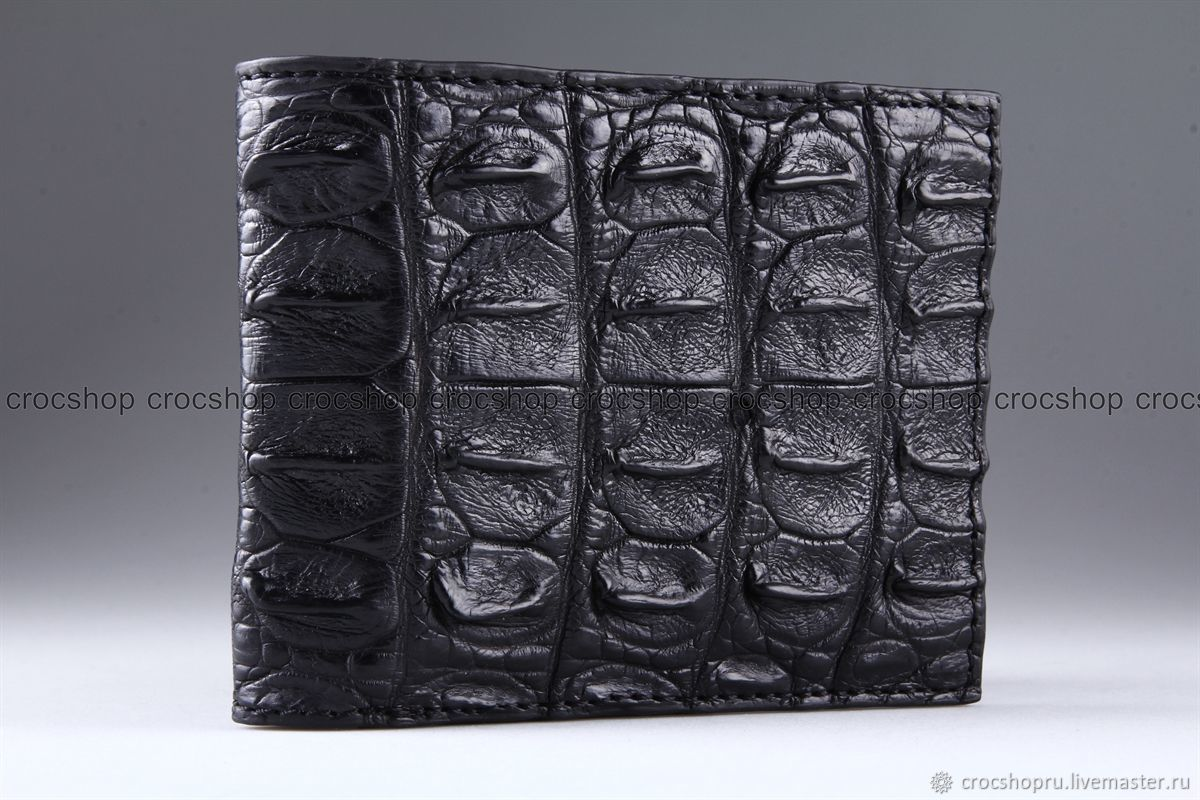Wallet crocodile leather IMA0225B22, Wallets, Moscow,  Фото №1