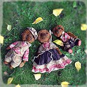 Куклы и игрушки ручной работы. Ярмарка Мастеров - ручная работа Тедди медведи. В гостях у сказки.. Handmade.
