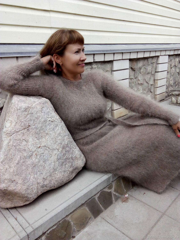 Dress downy Walnut, Dresses, Urjupinsk,  Фото №1