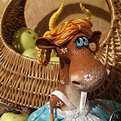 Куклы и игрушки ручной работы. Ярмарка Мастеров - ручная работа Ромашковая коровушка. Handmade.