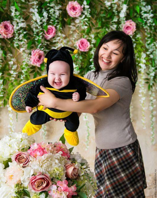Карнавальный новогодний костюм для малышей и детей Пчелка
