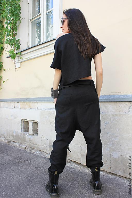 красивые брюки для полных женщин фото