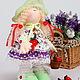 Коллекционные куклы ручной работы. Ярмарка Мастеров - ручная работа. Купить Интерьерная кукла. Ягодка. Handmade. Кукла ручной работы